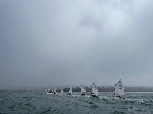 The Optimist Leinsters got racing in before the fog really descended