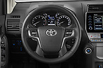 Car pictures of steering wheel view of a 2021 Toyota Land-Cruiser-150 Country 5 Door SUV Steering Wheel