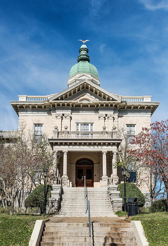 City Hall exterior, Athens, Georgia, USA