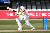 Daniel Lawrence in batting action for Essex during Essex CCC vs Worcestershire CCC, LV Insurance County Championship Group 1 Cricket at The Cloudfm County Ground on 8th April 2021