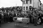 "Ireland The Troubles. Belfast  Funeral of IRA ""soldier"" 1980s Joe McDonnell"