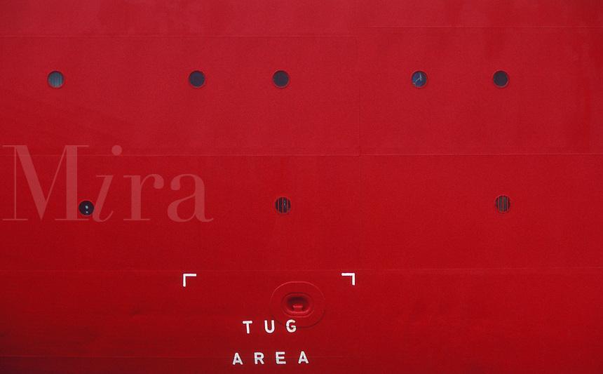 The Tug Area of cruise ship.