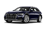 Stock pictures of low aggressive front three quarter view of a 2020 Audi A6 allroad quattro Base 5 Door Wagon