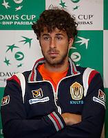 08-02-12, Netherlands,Tennis, Den Bosch, Daviscup Netherlands-Finland, Training,Robin Haase.