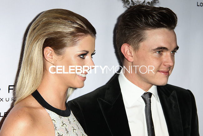 LOS ANGELES, CA, USA - NOVEMBER 08: Katie Peterson, Jesse McCartney arrives at the Unlikely Heroes' 3rd Annual Awards Dinner And Gala held at the Sofitel Hotel on November 8, 2014 in Los Angeles, California, United States. (Photo by Celebrity Monitor)