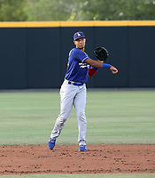 Carlos Santiago - Los Angeles Dodgers 2021 extended spring training (Bill Mitchell)