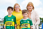 Aaron, Moira and Kevin Horgan with Monica Dillane, attending the Kerry Team Open Day Meet and Greet, at Fitzgerald Stadium, Killarney on Saturday last.