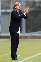 Milena Bartolini coach of Italy gestures<br /> Castel di Sangro 12-11-2019 Stadio Teofolo Patini <br /> Football UEFA WomenÕs EURO 2021 <br /> Qualifying round - Group B <br /> Italy - Malta<br /> Photo Cesare Purini / Insidefoto