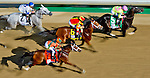MAY 1, 2015: Lovely Maria (7), ridden by jockey Kerwin Clark, wins the Kentucky Oaks for owner Brereton Jones and trainer Larry Jones at Churchill Downs in Louisville, Kentucky. John Voorhees/ESW/CSM