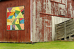 Barn with Kentucky Quilt trail painting.
