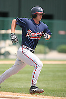 March 23rd 2008:  Dan Elorriaga-Matra of the Atlanta Braves minor league system during Spring Training at Disney's Wide World of Sports in Orlando, FL.  Photo by:  Mike Janes/Four Seam Images