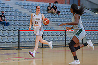 Becky Massey (25) of Belgium pictured during a basketball game between the national teams of Belgium , called the Belgian Cats , and Nigeria on Sunday 30 th of May 2021 in Kortrijk , Belgium . PHOTO SPORTPIX.BE | SPP | STIJN AUDOOREN