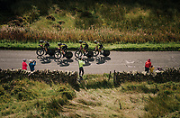 Team Mitchelton-Scott<br /> <br /> Time Trial through the magnificent Lake District National Park in Cumbria<br /> <br /> Stage 5 (TTT): Cockermouth to Whinlatter Pass (14km)<br /> 15th Ovo Energy Tour of Britain 2018