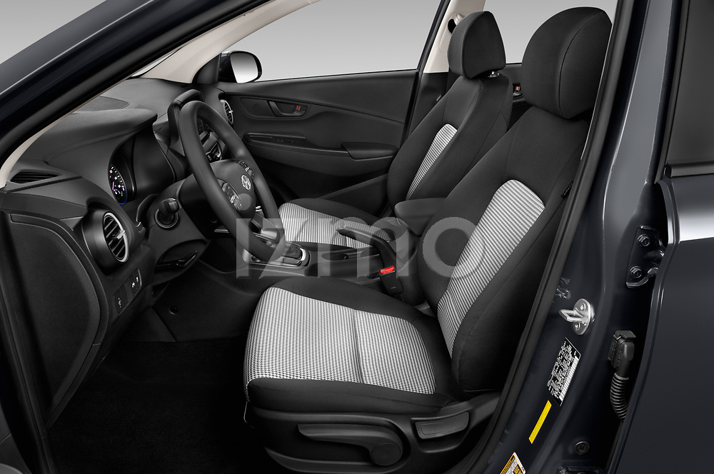 Front seat view of 2020 Hyundai Kona SE 5 Door SUV Front Seat  car photos