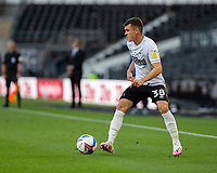 12th September 2020; Pride Park, Derby, East Midlands; English Championship Football, Derby County versus Reading; Jason Knight of Derby County with the ball at his feet looking for a pass