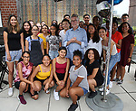 Sam Rudy and Rosie's Kids during the Retirement Celebration for Sam Rudy at Rosie's Theater Kids on July 17, 2019 in New York City.