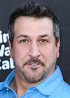 HOLLYWOOD, LOS ANGELES, CA, USA - OCTOBER 06: Joey Fatone arrives at the World Premiere Of Disney's 'Alexander And The Terrible, Horrible, No Good, Very Bad Day' held at the El Capitan Theatre on October 6, 2014 in Hollywood, Los Angeles, California, United States. (Photo by Xavier Collin/Celebrity Monitor)
