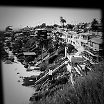 Seaside beach homes, Corona del Mar, CA.