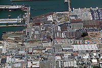 aerial photograph Pier 70 San Francisco, California