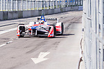 Felix Rosenqvist of Sweden from Mahindra Racing competes in the Formula E Non-Qualifying Practice 2 during the FIA Formula E Hong Kong E-Prix Round 1  at the Central Harbourfront Circuit on 02 December 2017 in Hong Kong, Hong Kong. Photo by Marcio Rodrigo Machado / Power Sport Images