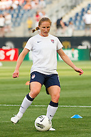 Rachel Buehler (19) of the United States (USA). The United States (USA) women defeated China PR (CHN) 4-1 during an international friendly at PPL Park in Chester, PA, on May 27, 2012.