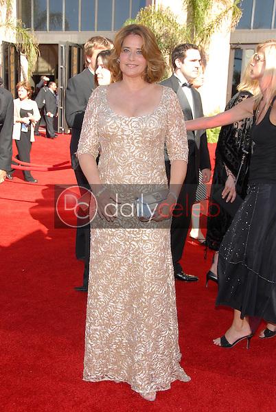 Lorraine Bracco<br />arriving at the 58th Annual Primetime Emmy Awards. The Shrine Auditorium, Los Angeles, CA. 08-27-06<br />Scott Kirkland/DailyCeleb.com 818-249-4998