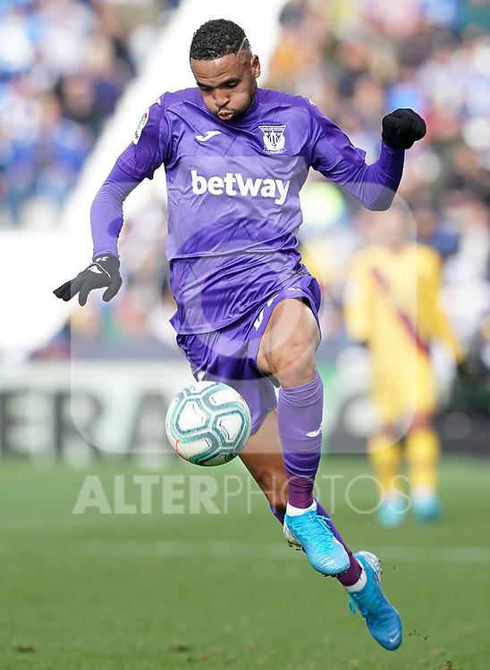 CD Leganes' Youssef En-Nesyri during La Liga match. November 23,2019. (ALTERPHOTOS/Acero)