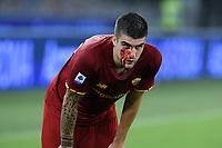 23rd September 2021;  Stadio Olimpicom, Roma, Italy; Serie A League Football, Roma versus Udinese; Gianluca Mancini of As Roma