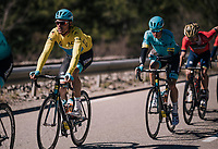 overall leader Luis Leon Sanchez (ESP/Astana)<br /> <br /> 76th Paris-Nice 2018<br /> stage 6: Sisteron > Vence (198km)