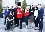 Mark Arendz, Ina Forrest, Tricia Smith, PyeongChang 2018. <br />