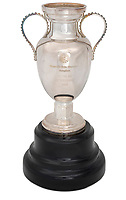BNPS.co.uk (01202 558833)<br /> Pic: Julien'sAuctions/BNPS<br /> <br /> Pictured: Alfredo Di Stefano 1958 Real Madrid UEFA European Champions Cup Miniature Reproduction Trophy.<br /> <br /> An epic collection of medals, trophies, shirts and personal items relating to footballing legend Alfredo Di Stefano is being sold by his family for over £1m.<br /> <br /> Many of the awards won by the great goalscorer have, until recently, been on display at the Real Madrid Museum, the club where he played for most of his career.<br /> <br /> The Argentine-born striker is regarded as one of the best players of all-time and is often compared to Cristiano Ronaldo.<br /> <br /> During Di Stafano's time with Real Madrid in the 1950s and '60s, the Spanish giants dominated European football, largely due to his goals and assists.