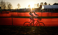 David Van der Poel (NLD/BKCP-Powerplus) in his last lap<br /> <br /> CX Leuven Soudal Classic 2015