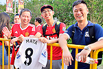 Fans of Manchester City moments before the International Champions Cup China 2016, match between Manchester United vs Borussia  Dortmund on 22 July 2016 held at the Shanghai Stadium in Shanghai, China. Photo by Marcio Machado / Power Sport Images