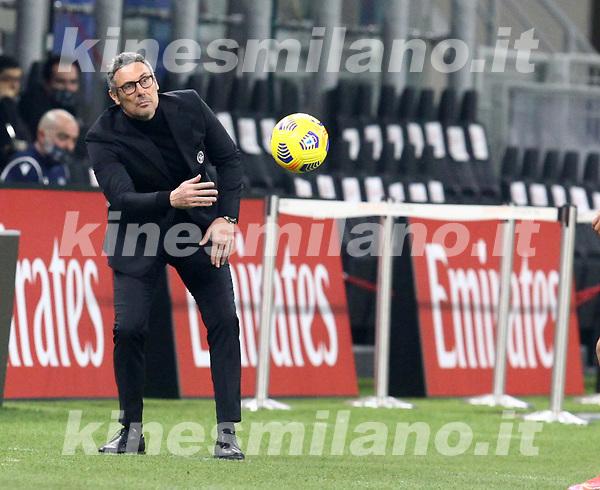 Milano 03-03-2021<br /> Stadio Giuseppe Meazza<br /> Serie A  Tim 2020/21<br /> Milan - Udinese<br /> nella foto: Gotti                                                        <br /> Antonio Saia