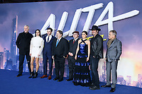 "Cast, director and producers<br /> arriving for the ""ALITA: BATTLE ANGEL"" world premiere at the Odeon Luxe cinema, Leicester Square, London<br /> <br /> ©Ash Knotek  D3475  31/01/2019"