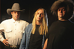 Various portrait sessions of the rock band, Melvins