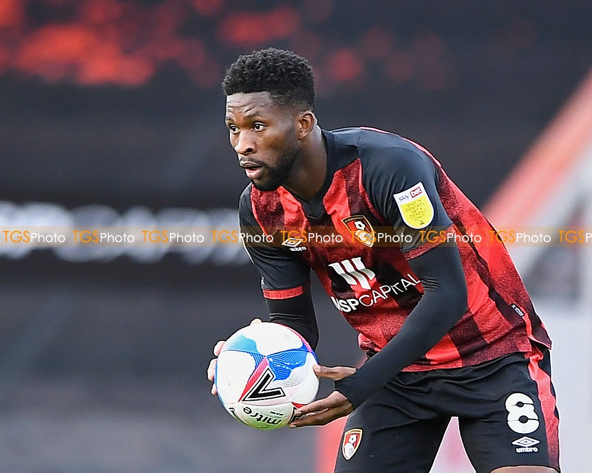 Jefferson Lerma of AFC Bournemouth during AFC Bournemouth vs Reading, Sky Bet EFL Championship Football at the Vitality Stadium on 21st November 2020