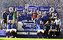 30/05/2009  Copyright  Pic : James Stewart.sct_jspa_16_rangers_v_falkirk.RANGERS PLAYERS CELEBRATE WINNING THE CUP.James Stewart Photography 19 Carronlea Drive, Falkirk. FK2 8DN      Vat Reg No. 607 6932 25.Telephone      : +44 (0)1324 570291 .Mobile              : +44 (0)7721 416997.E-mail  :  jim@jspa.co.uk.If you require further information then contact Jim Stewart on any of the numbers above.........