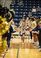Marybeth Dyson (5) of Bentonville West being introduced at Wolverine Arena, Centerton,  AR, Tuesday, January 12, 2021 / Special to NWA Democrat-Gazette/ David Beach