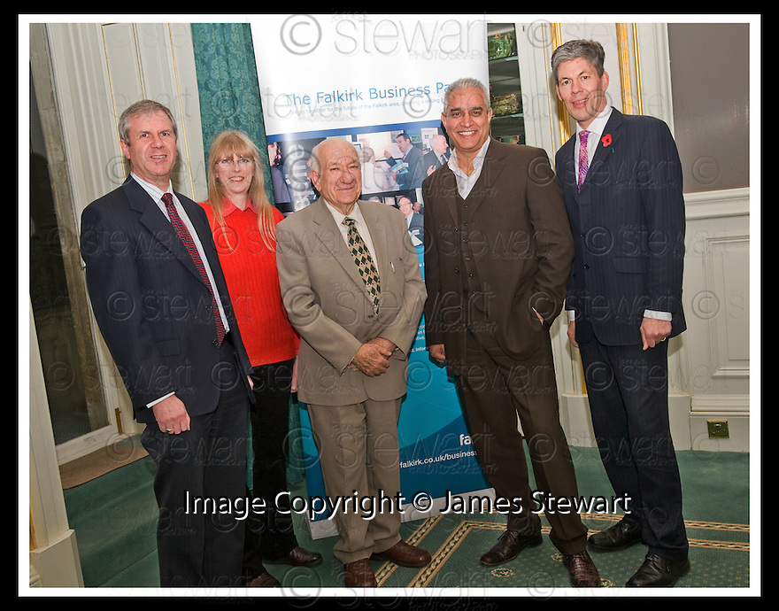 04/11/2008  Copyright Pic: James Stewart.File Name : 11_charan_gill.FALKIRK BUSINESS PANEL :: TALK BUSINESS :: l to r DAVID MOFFAT, BARBARA DAVIDSON, JACK MARSHALL, CHARAN GILL MBE, JOHN BLACKIE.James Stewart Photo Agency 19 Carronlea Drive, Falkirk. FK2 8DN      Vat Reg No. 607 6932 25.Studio      : +44 (0)1324 611191 .Mobile      : +44 (0)7721 416997.E-mail  :  jim@jspa.co.uk.If you require further information then contact Jim Stewart on any of the numbers above.........