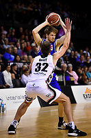Isaac Miller-Jose of the Wellington Saints shoots the ball during the round one NBL match between the Wellington Saints and the Canterbury Rams at TSB Bank Arena, Wellington, New Zealand on Friday 30 April 2021.
