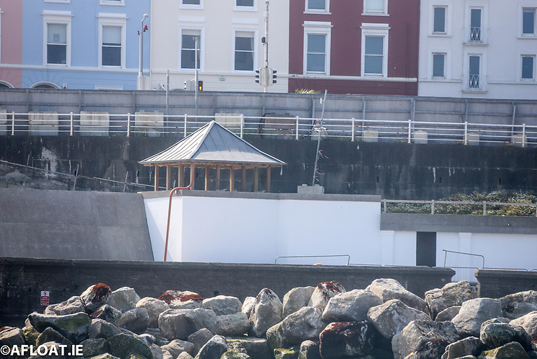 The small gazebo situated along the new route from Pier to Newtownsmith has been refurbished