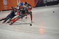 SPEEDSKATING: DORDRECHT: 05-03-2021, ISU World Short Track Speedskating Championships, QF 1500m Ladies, Courtney Sarault (CAN), ©photo Martin de Jong