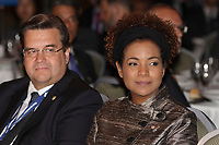 Montreal, CANADA, June, 2015  File Photo<br /> <br /> Michaelle Jean<br /> <br /> , attend the The International Economic Forum of the Americas<br /> <br /> Photo :   Pierre Roussel - AQP