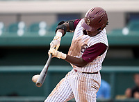 Brandon Eagles outfielder Kendal Spencer (5) during the 42nd Annual FACA All-Star Baseball Classic on June 6, 2021 at Joker Marchant Stadium in Lakeland, Florida.  (Mike Janes/Four Seam Images)