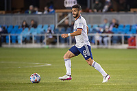 SAN JOSE, CA - MAY 01: Felipe Martins #8 of DC United looks up to pass the ball during a game between San Jose Earthquakes and D.C. United at PayPal Park on May 01, 2021 in San Jose, California.