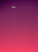 moonrise at twilight