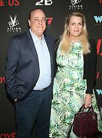 WEST HOLLYWOOD, CA - SEPTEMBER 13: Ken Rickel, Nancy Davis, at the LA Premiere Screening Of I Love Us at Harmony Gold in West Hollywood, California on September 13, 2021. Credit: Faye Sadou/MediaPunch