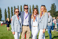 Team Belgium during the First Horse Inspection. 2021 SUI-FEI European Eventing Championships - Avenches. Switzerland. Wednesday 22 September 2021. Copyright Photo: Libby Law Photography