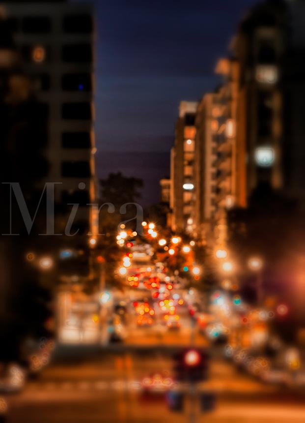 City street.